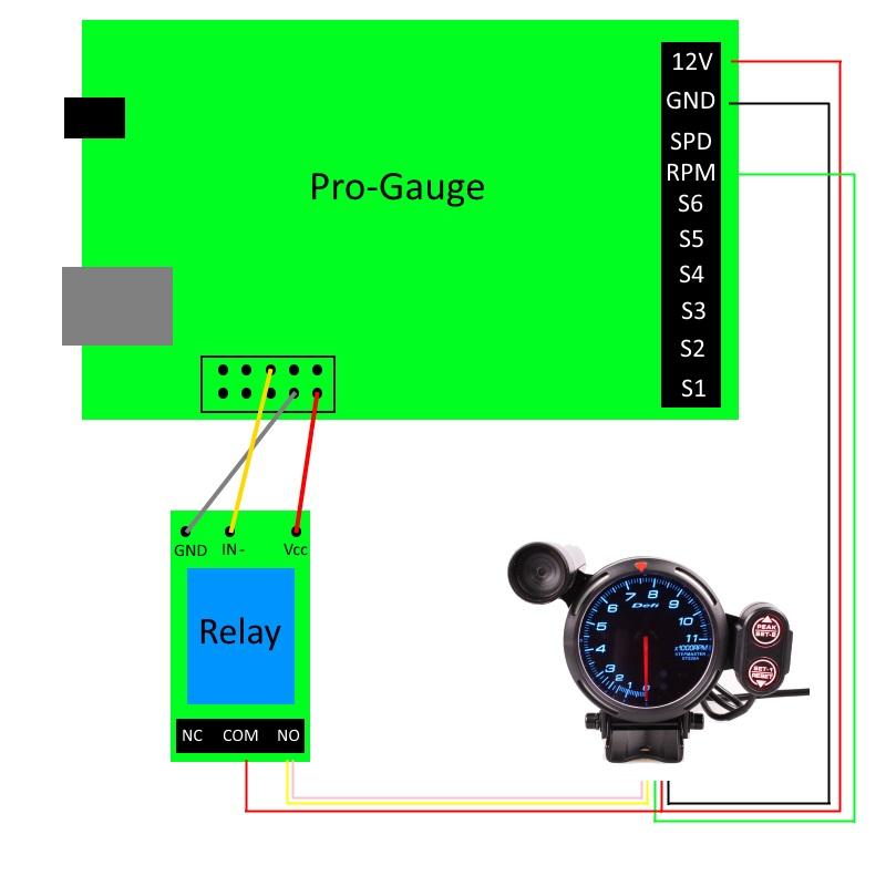 DEFI 80mm 11000 RPM Tachometer  Wire Wiring Diagram Tachometer on circuit diagram, tachometer schematic, vdo tachometer diagram, tachometer repair, tachometer installation, tachometer sensor, turn signal diagram, koolertron backup camera installation diagram, tachometer cable, tachometer connectors, tachometer wiring list, tachometer wiring function, fuse block diagram,